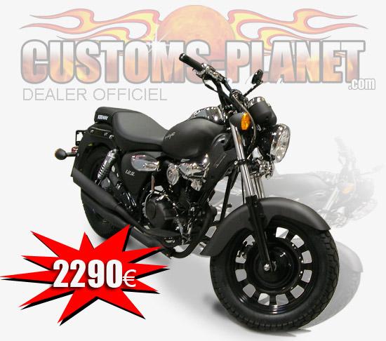 customs planet custom keeway une moto neuve pour le. Black Bedroom Furniture Sets. Home Design Ideas